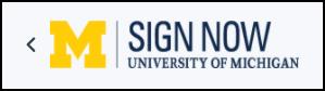 UM Sign Now logo