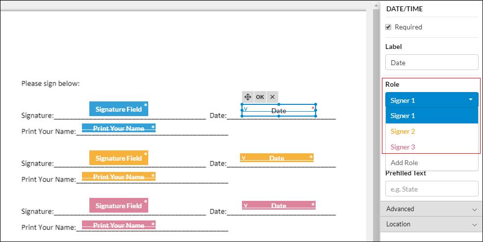 date and time sidebar screenshot