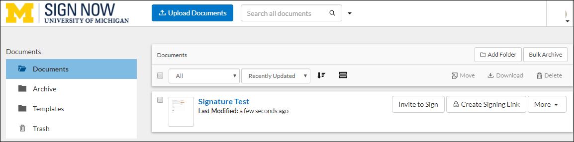 document folder screenshot