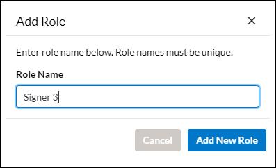 Add role screenshot