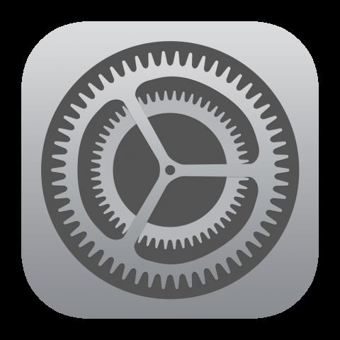 apple settings icon