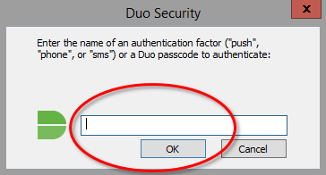 RDP prompt for authentication method