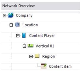 content manager menu