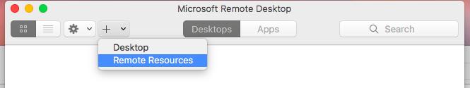 In Application Folder, click Configure RemoteApp.app