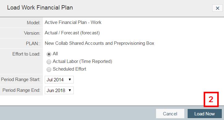 financial-plan window